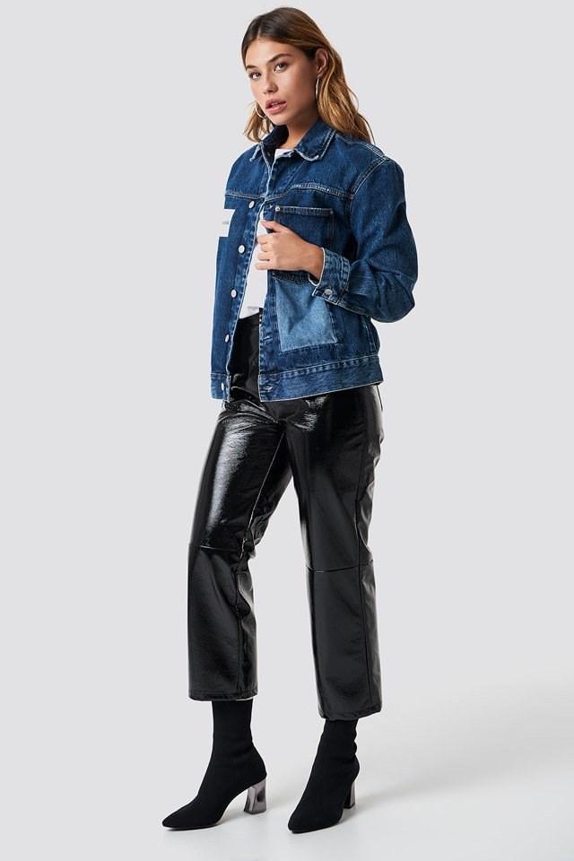 Calvin Klein Denim Jacket Outfit