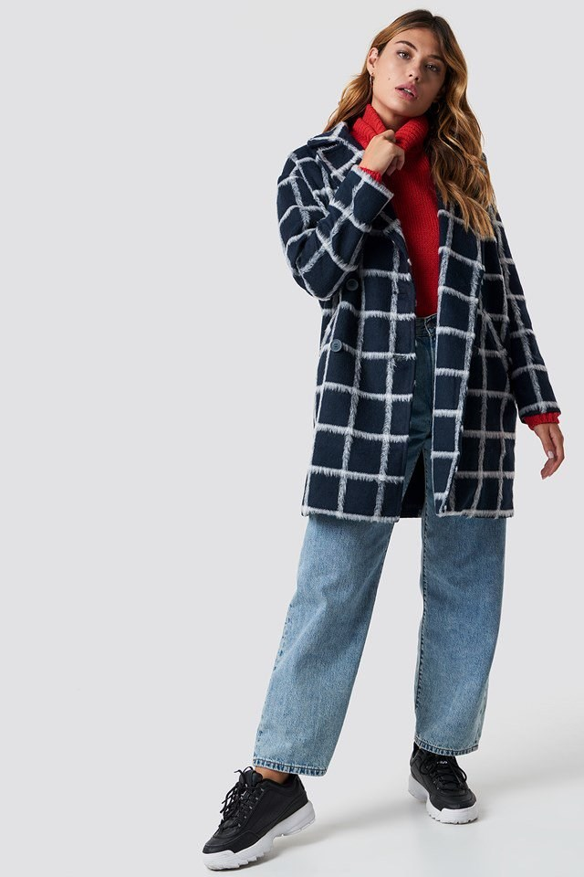 Checkered Jacket Outfit