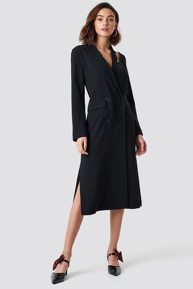Elegant Long Coat Outfit
