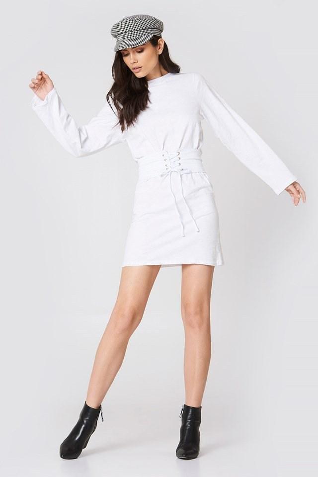 Belted Detail Dress