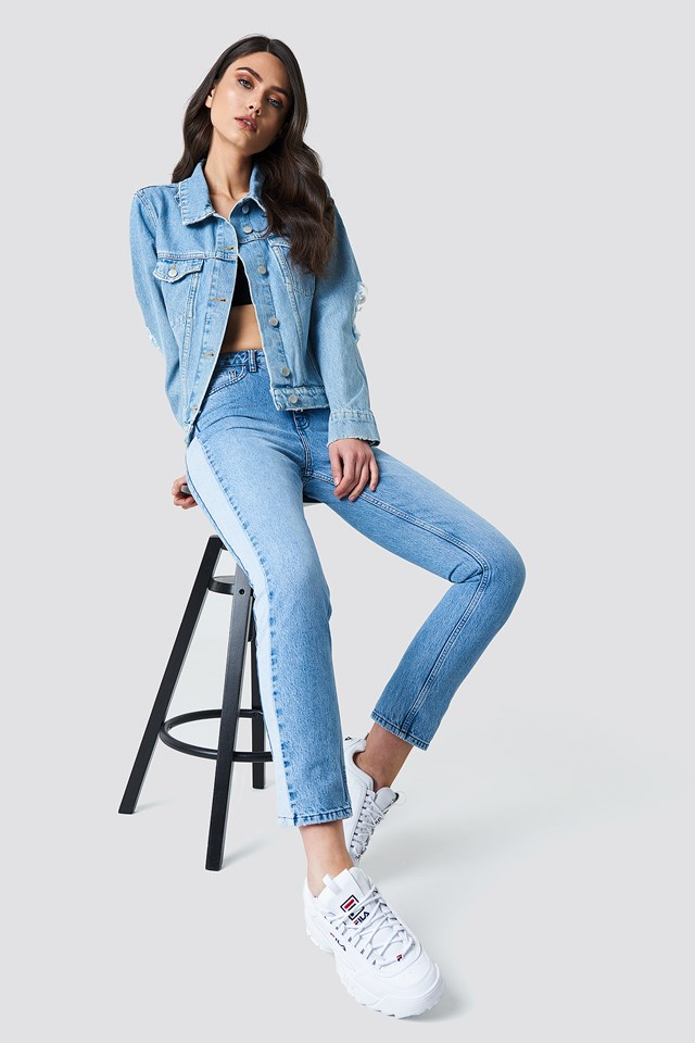 Denim on Denim Simple Look