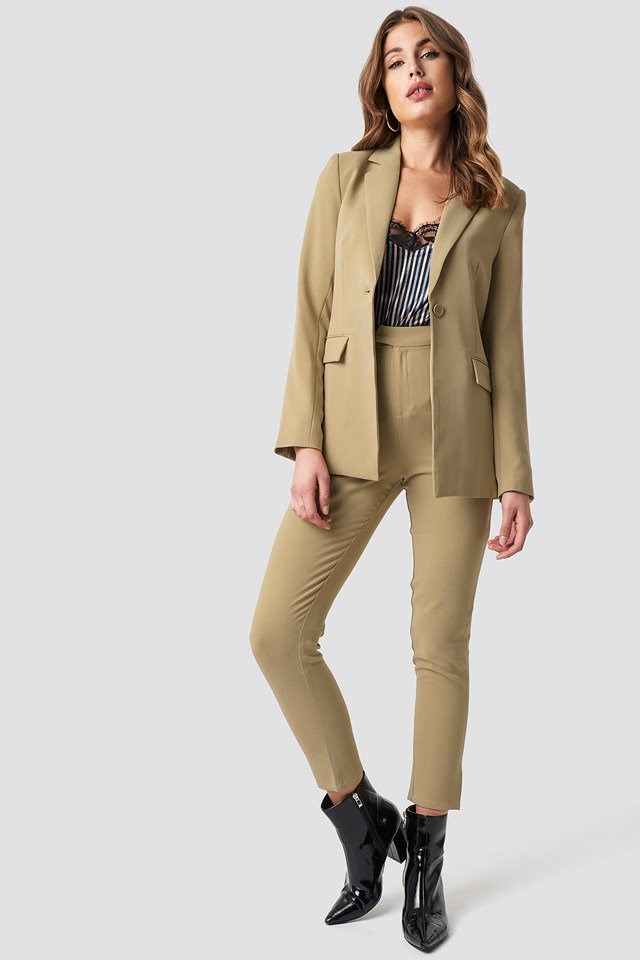 Tailored Blazer and Tailored Suit Pants