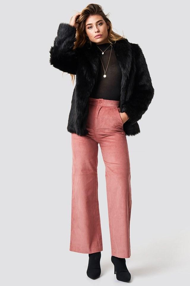 Classic Faux Fur Jacket
