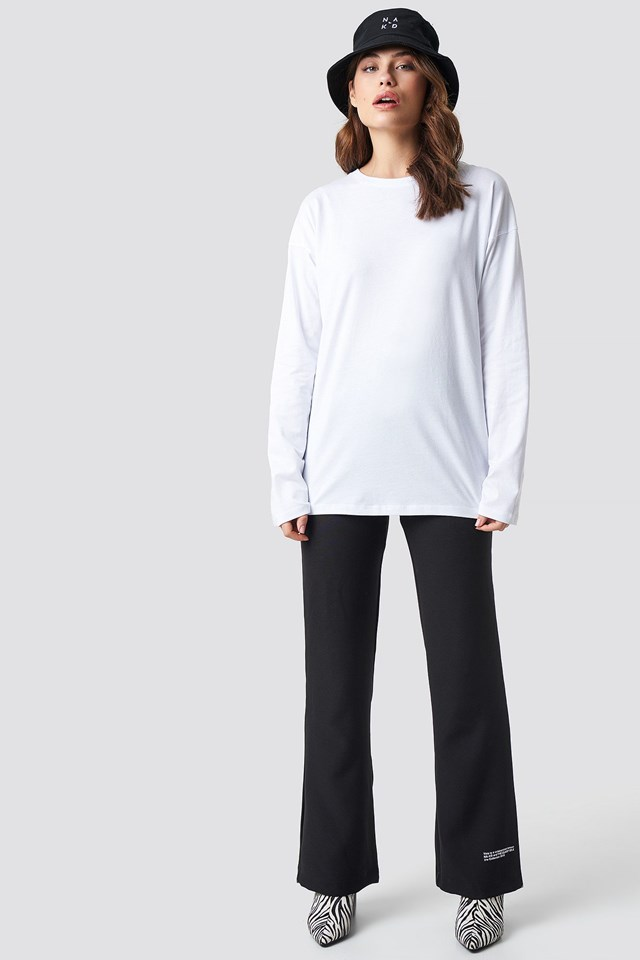 Unisex Long Sleeve Top Outfit