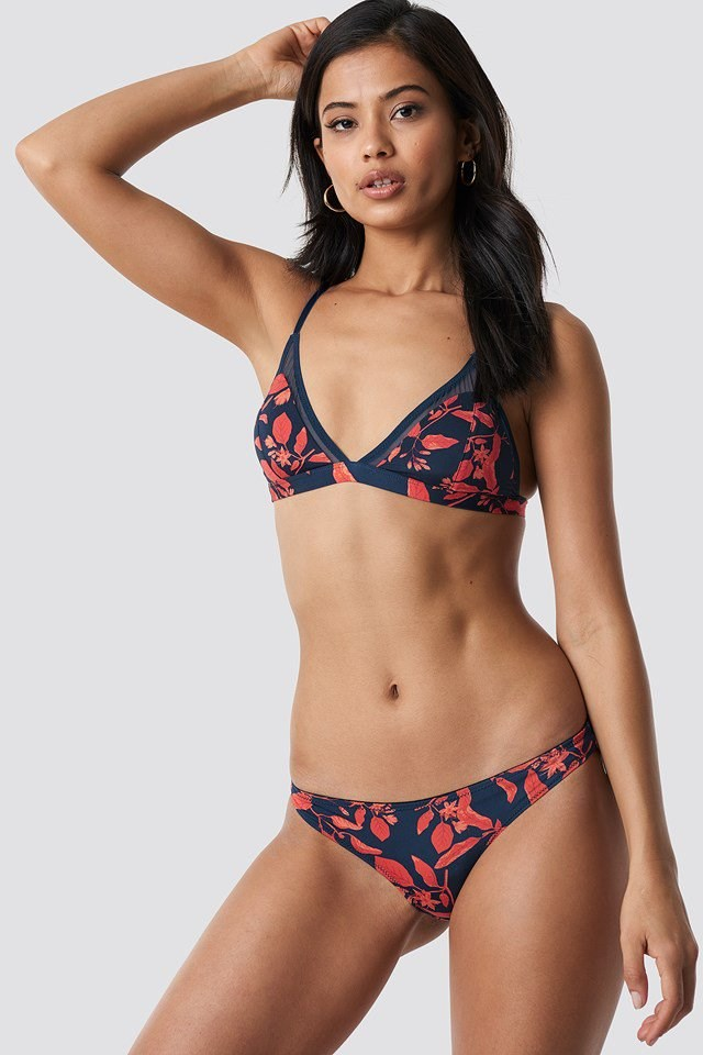 Barbara floral bra and panty outfit