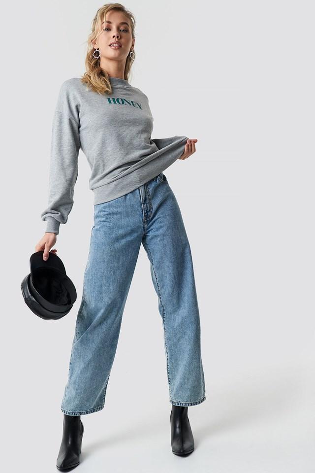 Honey Sweatshirt Outfit