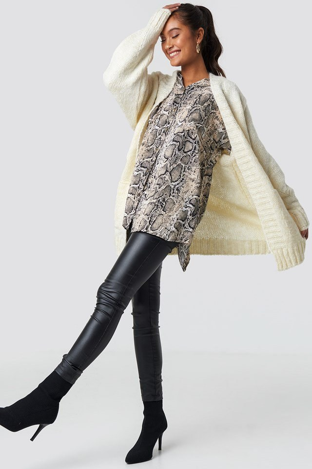 Knitted Cardigan Outfit