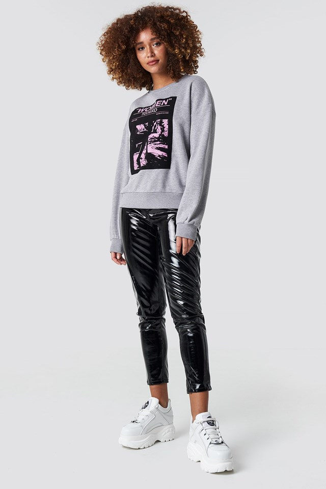 Oversized Sweatshirt Outfit
