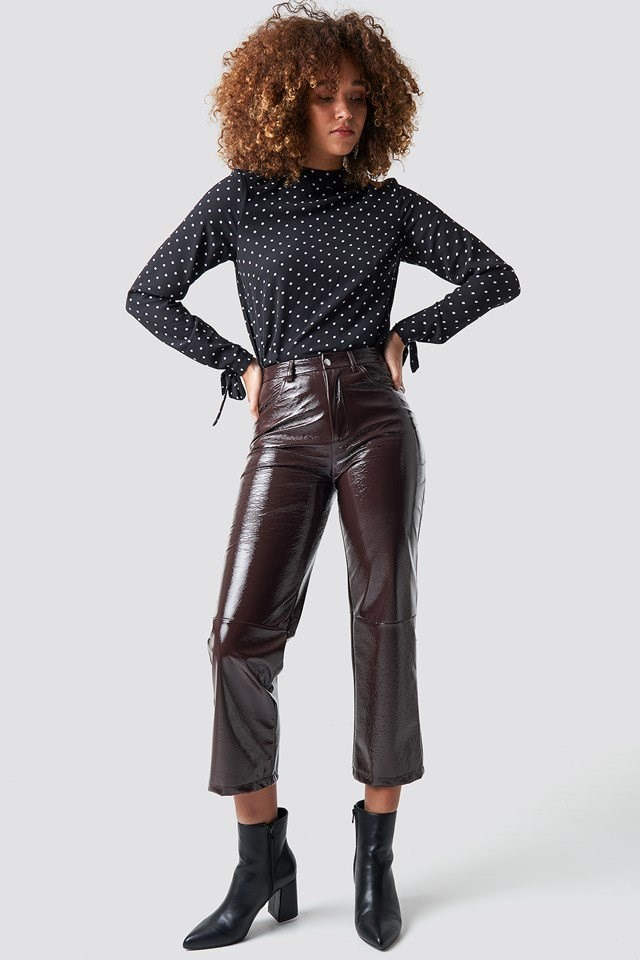 Dotty Blouse Outfit