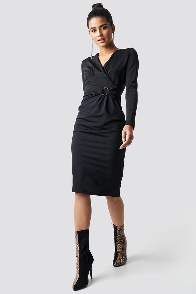 Waistband Dress Outfit