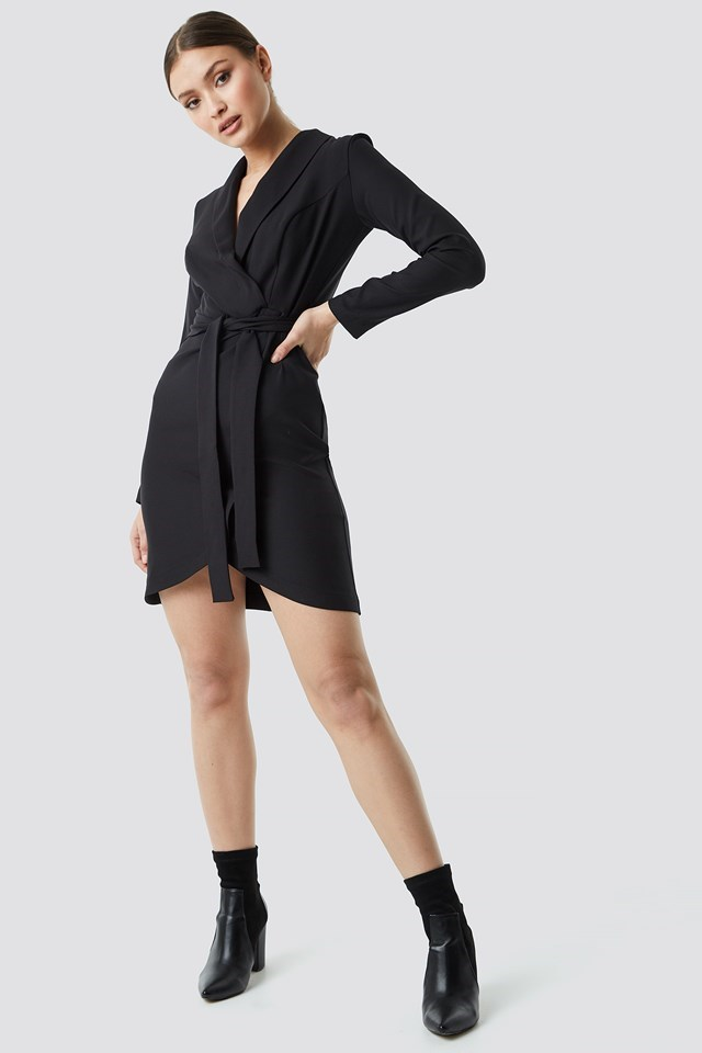 Wrap Around Belt Dress Outfit