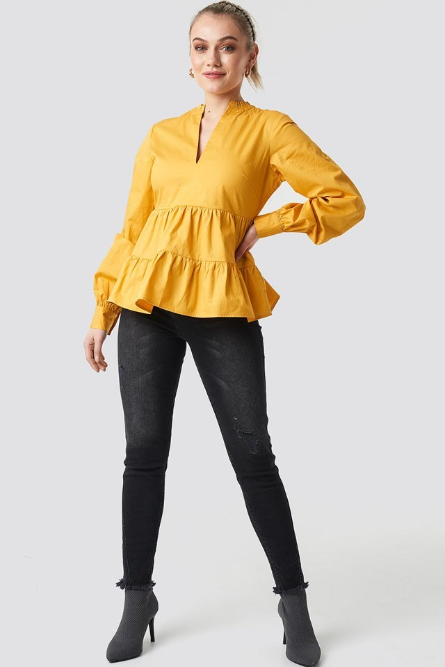 Volume Blouse Outfit