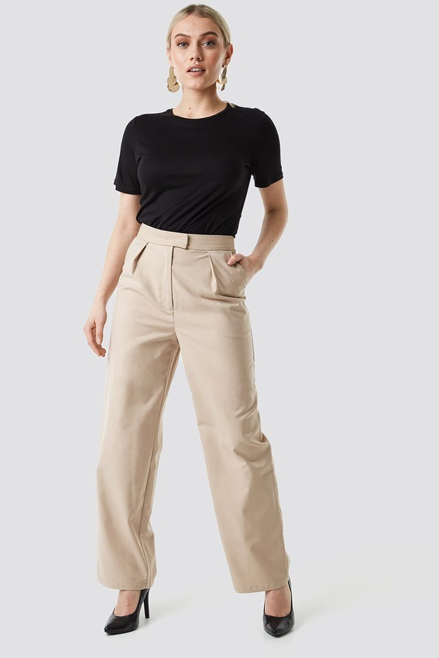 Pleated Trousers Outfit