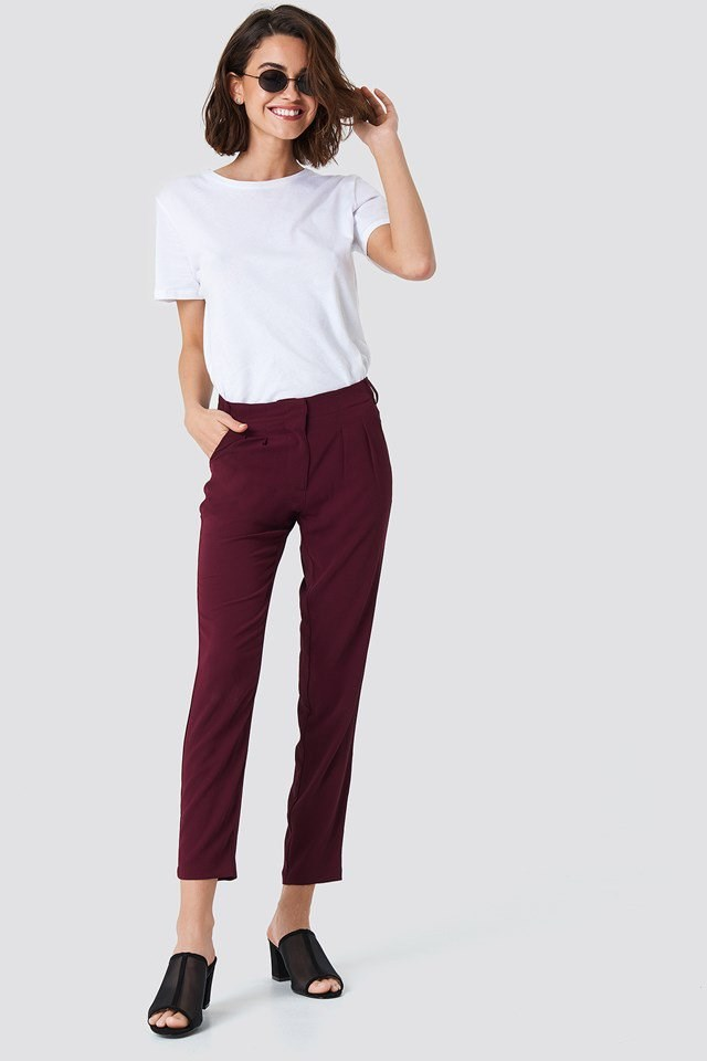 Skinny Jeans with Basic Top