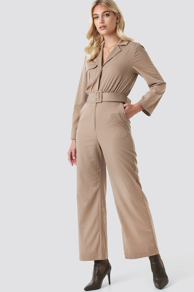 Front Pocket Jumpsuit