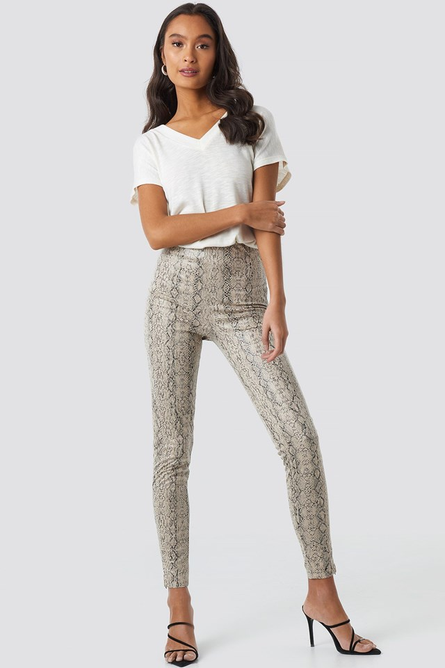 Snake Skin Pants Outfit