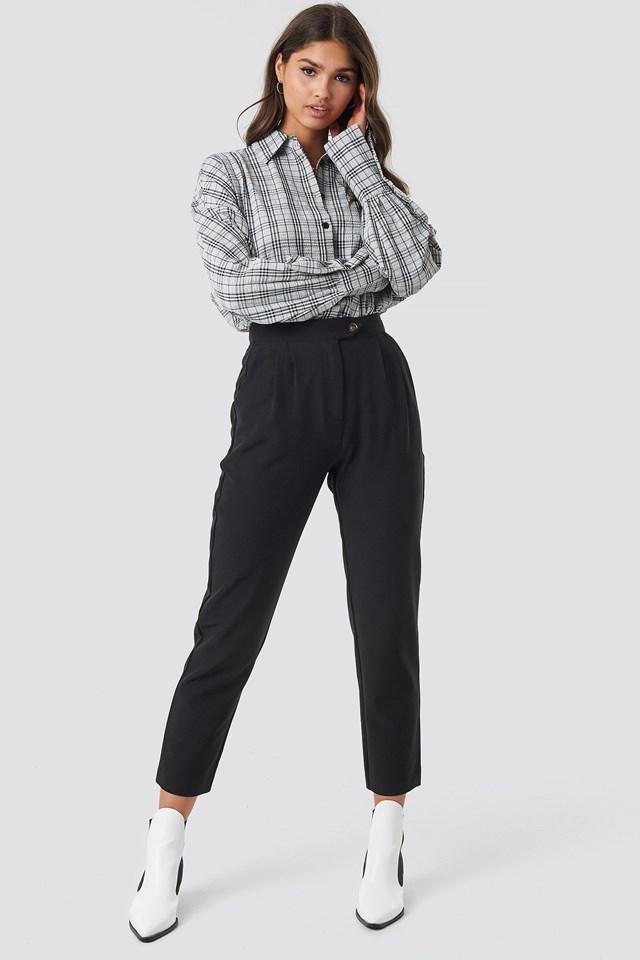 Cigarette Pants Outfit