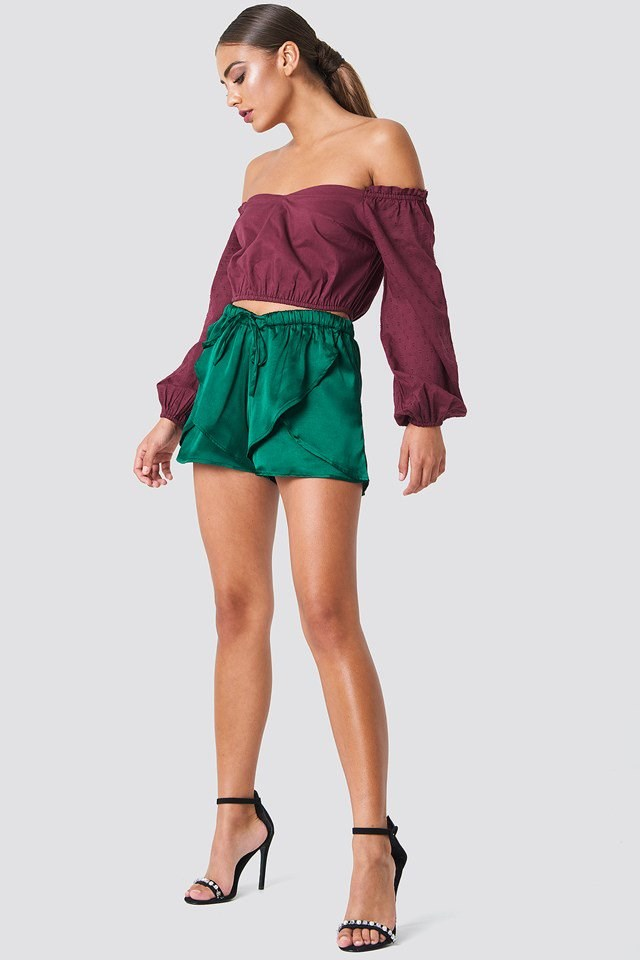 Crop Top with Shorts