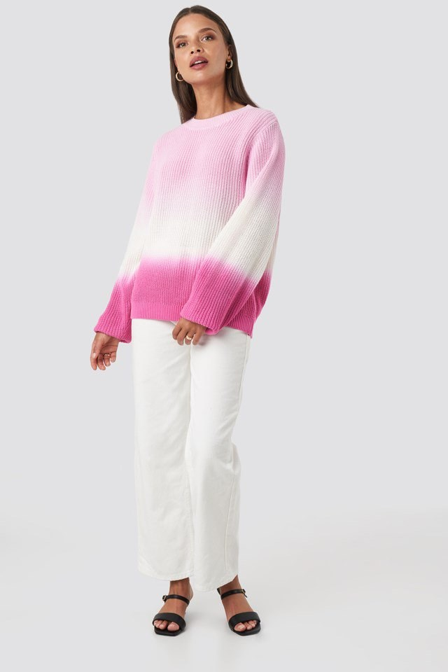 Degrade4 Sweater Pink Outfit