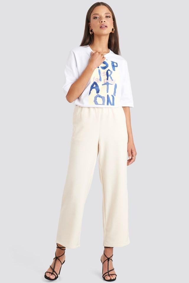Aspiration T-shirt Outfit.