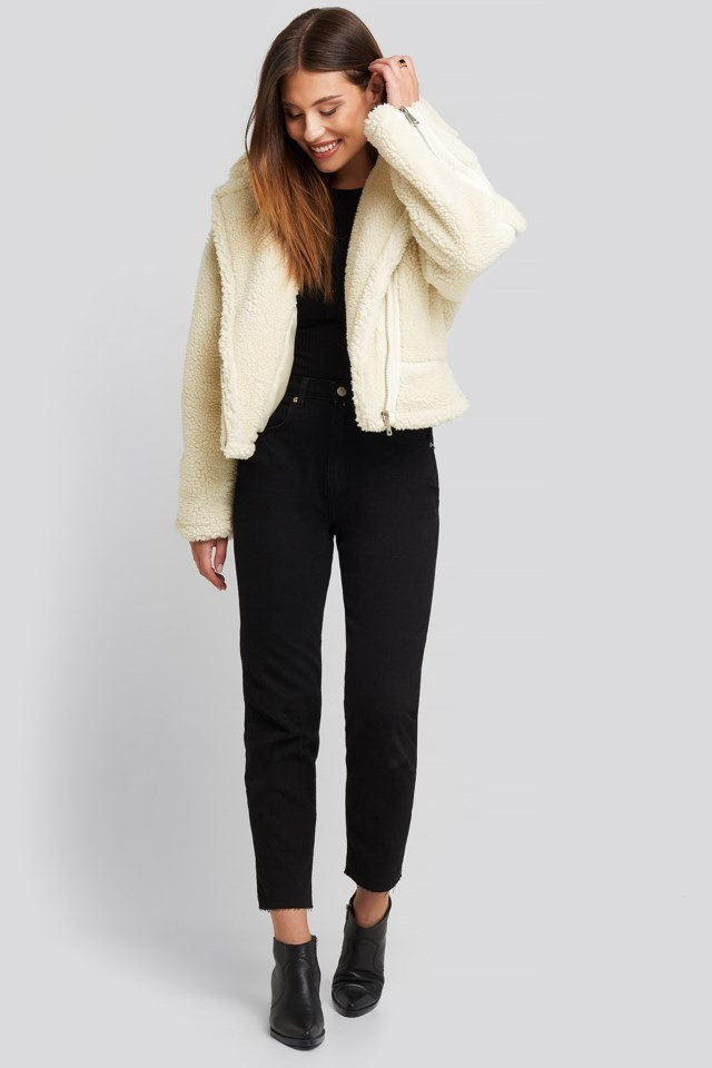 Teddy Biker Jacket Outfit.