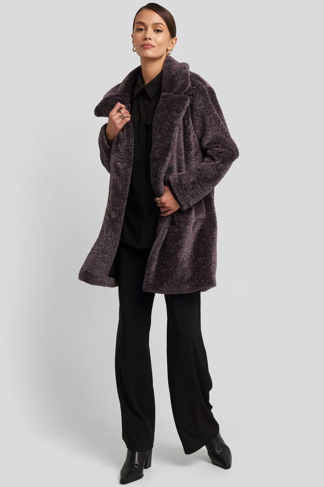 Long Teddy Coat