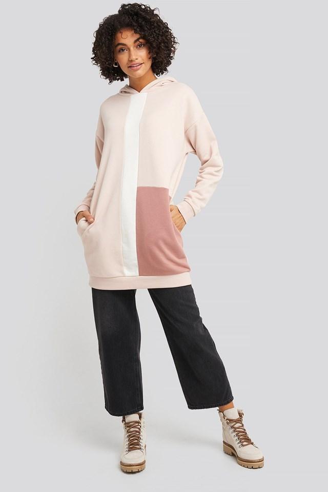 Block Panel Hoodie Outfit