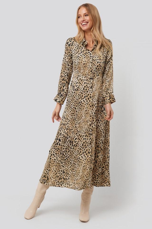 Pardo Dress Multicolor Outfit