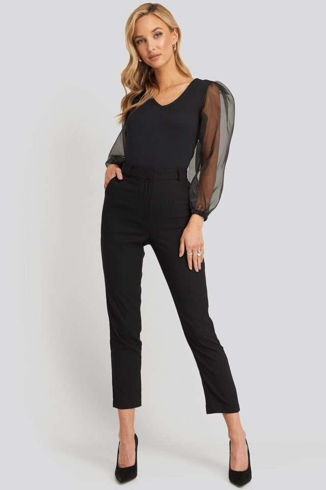 Yol Trousers Black Outfit