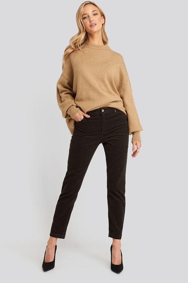 Newmom Trousers Brown Outfit