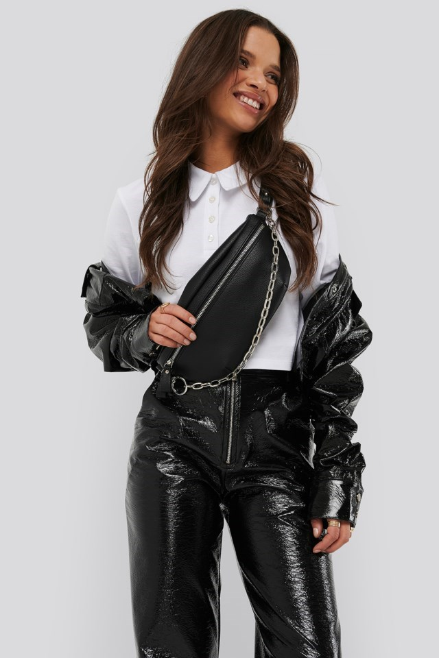 Chain Fanny Pack Outfit