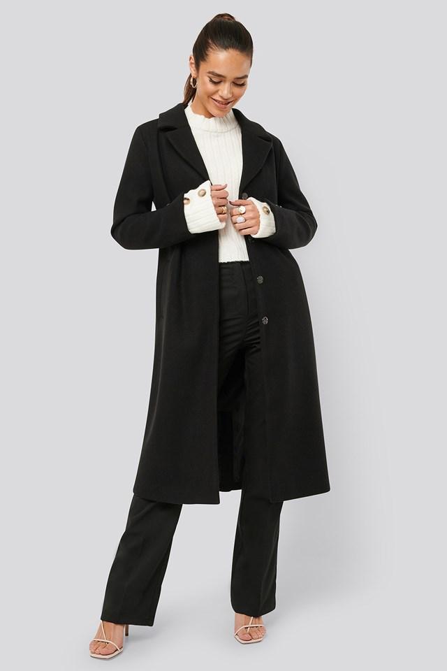 Sleeve Slit Coat