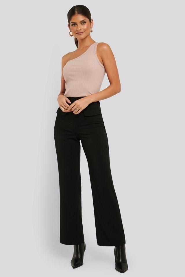 Flared Suit Pants