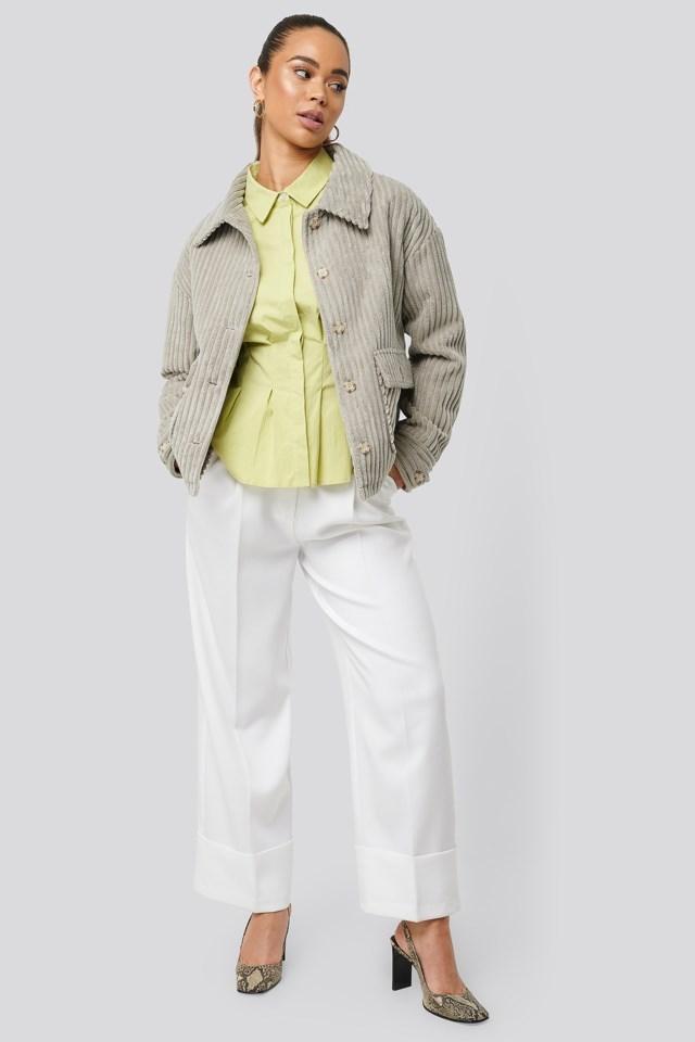 Short Corduroy Coat