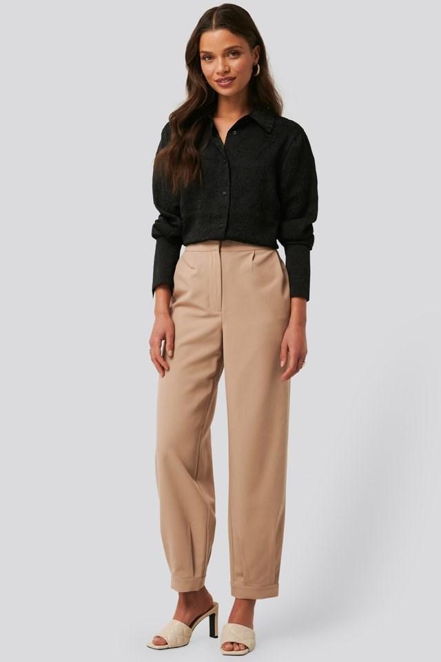 Darted Suit Pants