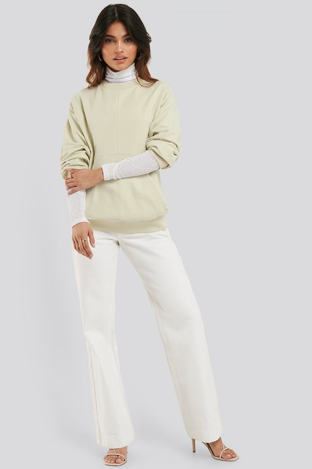 Relaxed Fit Front Pocket Sweatshirt