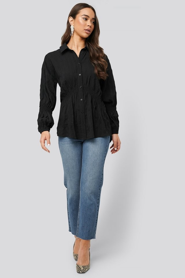 Structured Collar Blouse