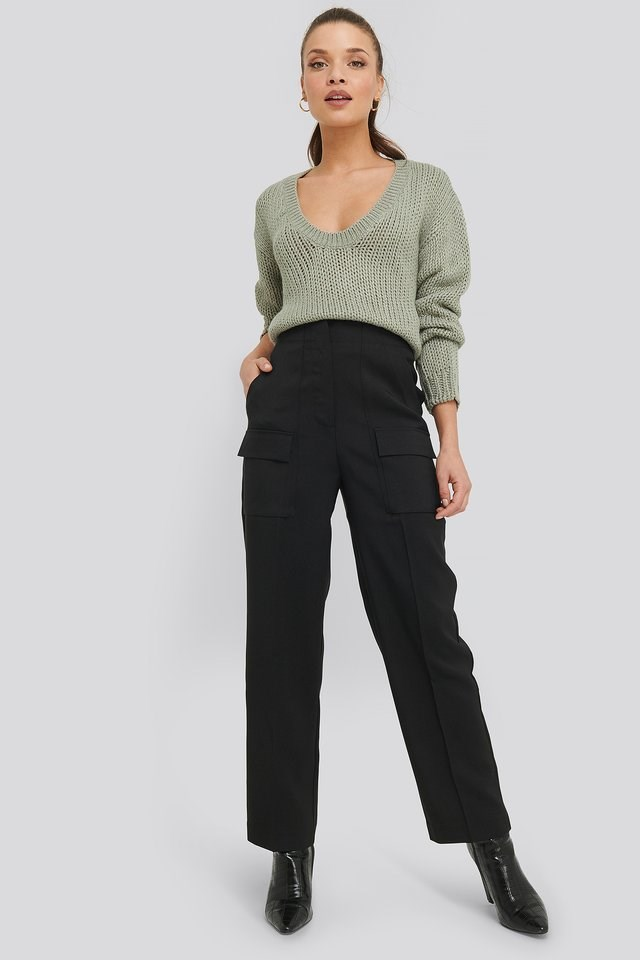 Big Front Pocket Pants