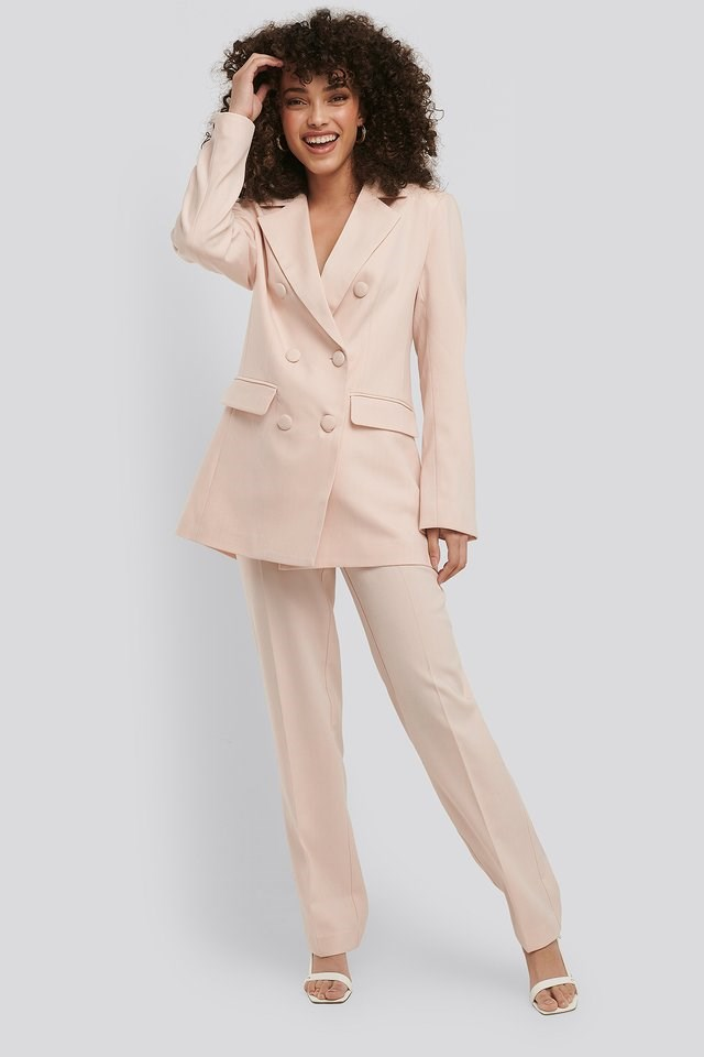 Relaxed Fit Suit Pants