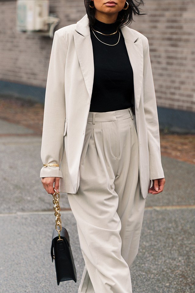 Suit Outfit NYFW