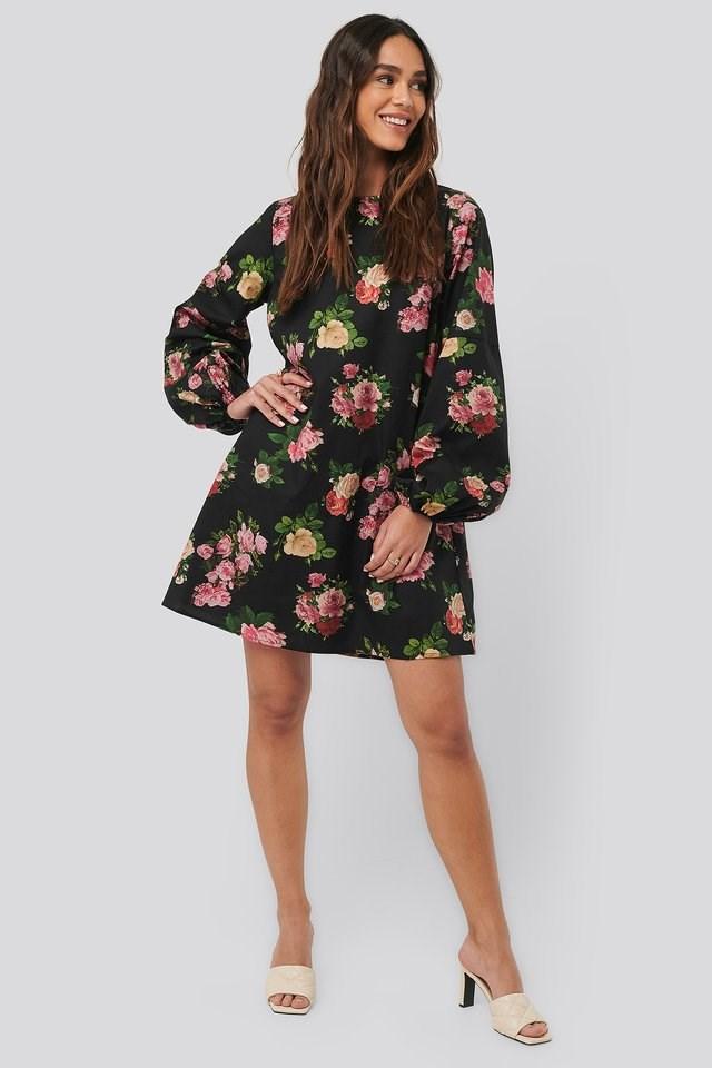 Volume LS Mini Dress