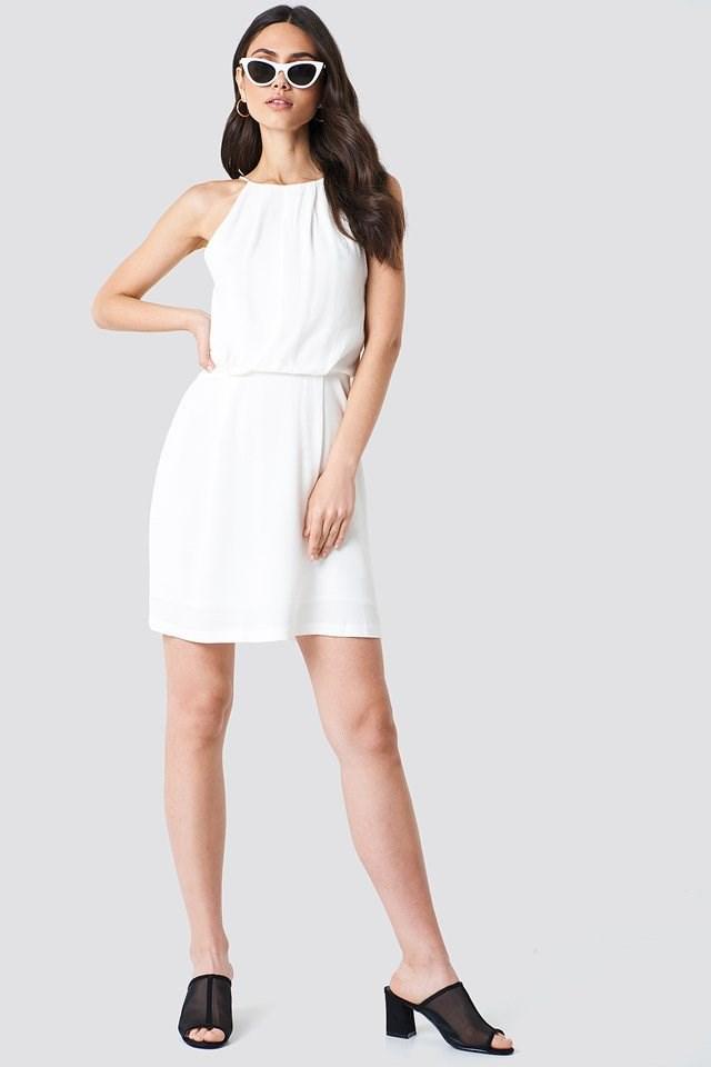 White Mini Dress