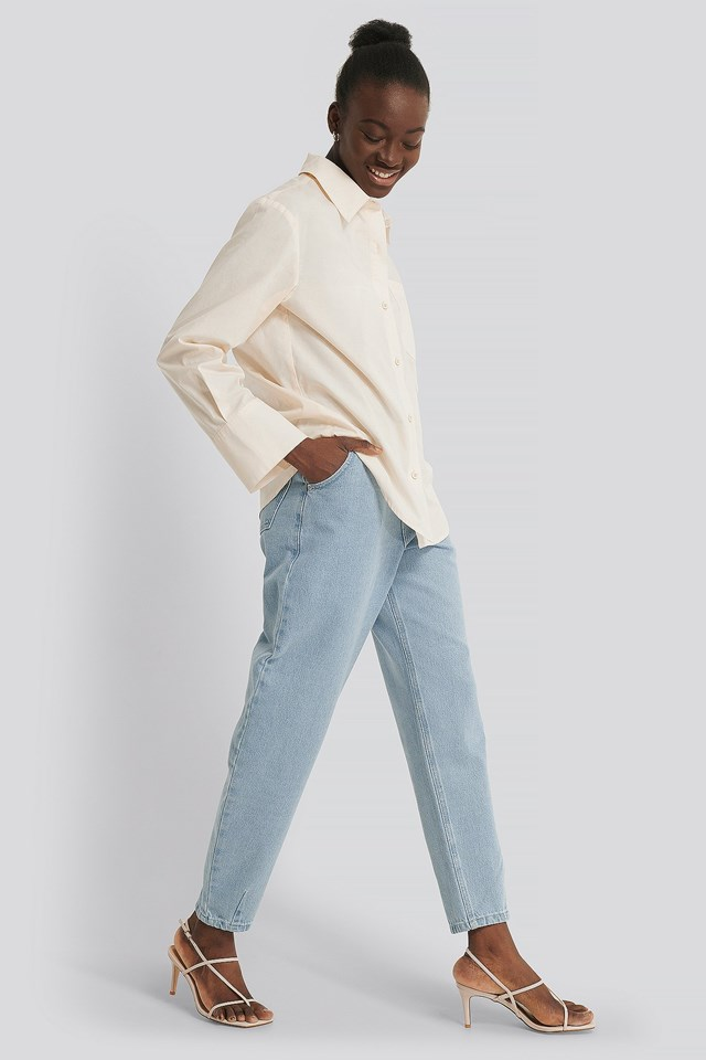Wide Cuff Shirt Outfit