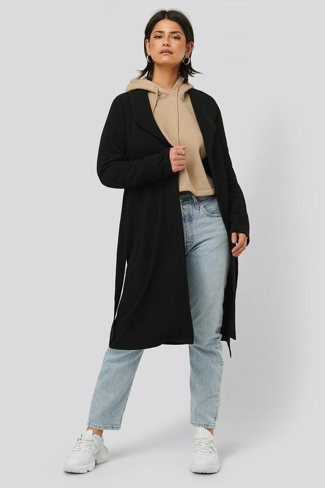 Belted Light Coat