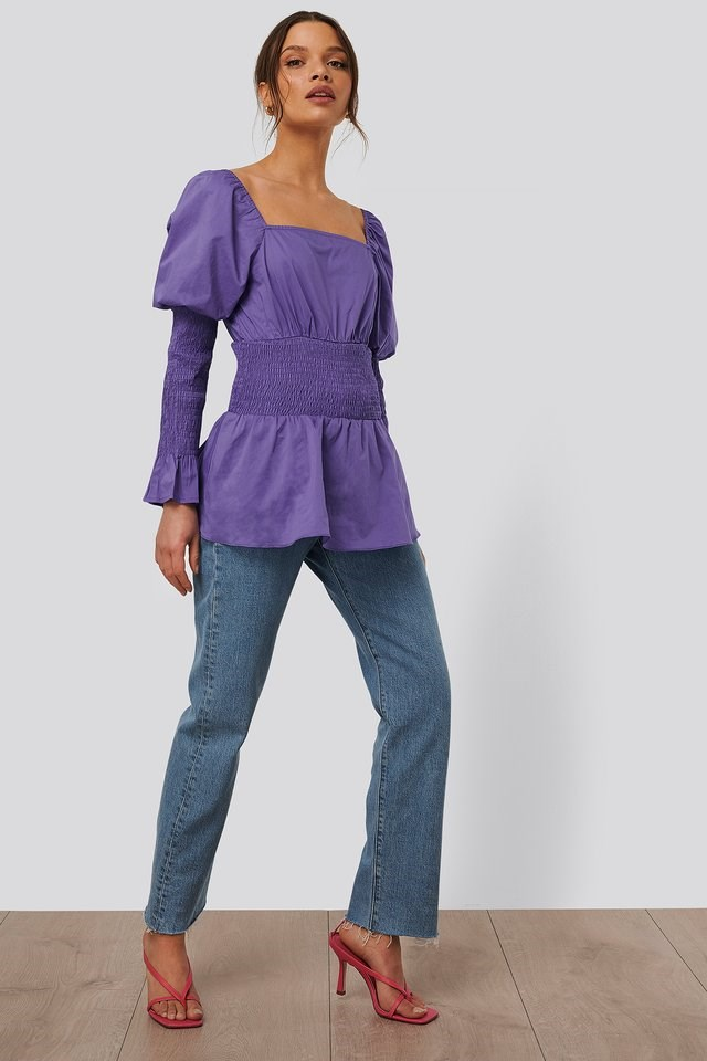 Gathered Effect Blouse