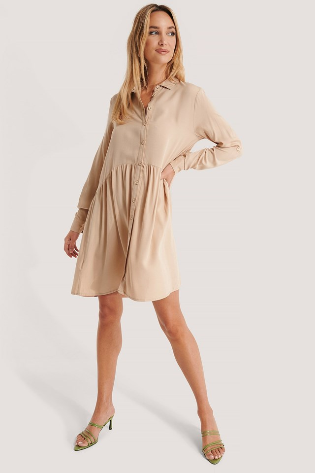 Yol Shirt Dress Outfit