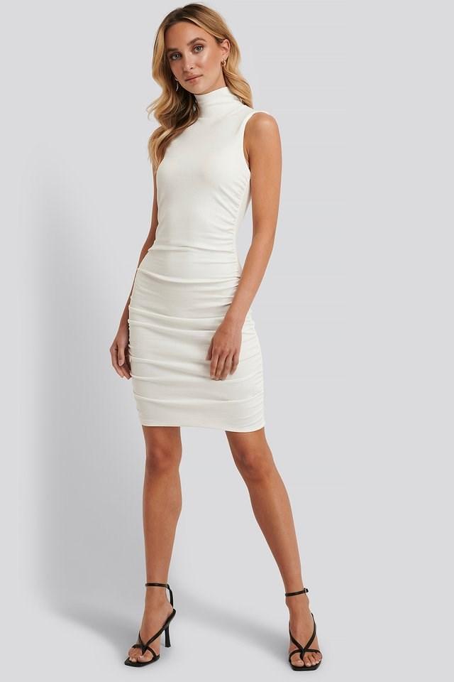 Mini Pleated Dress