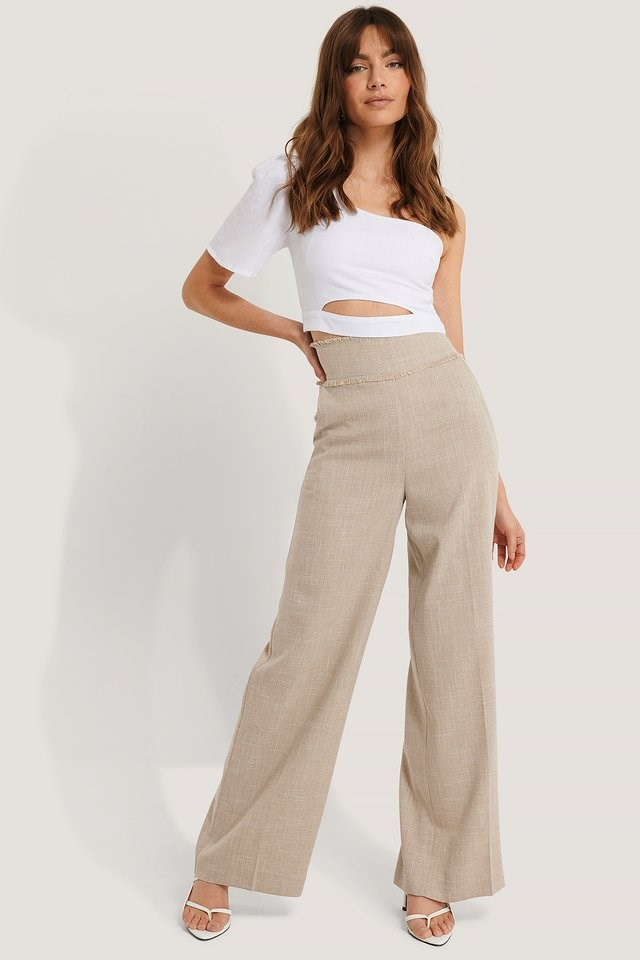 Single Sleeve Top Outfit