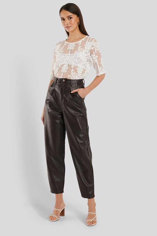 Ella Lace Top Outfit