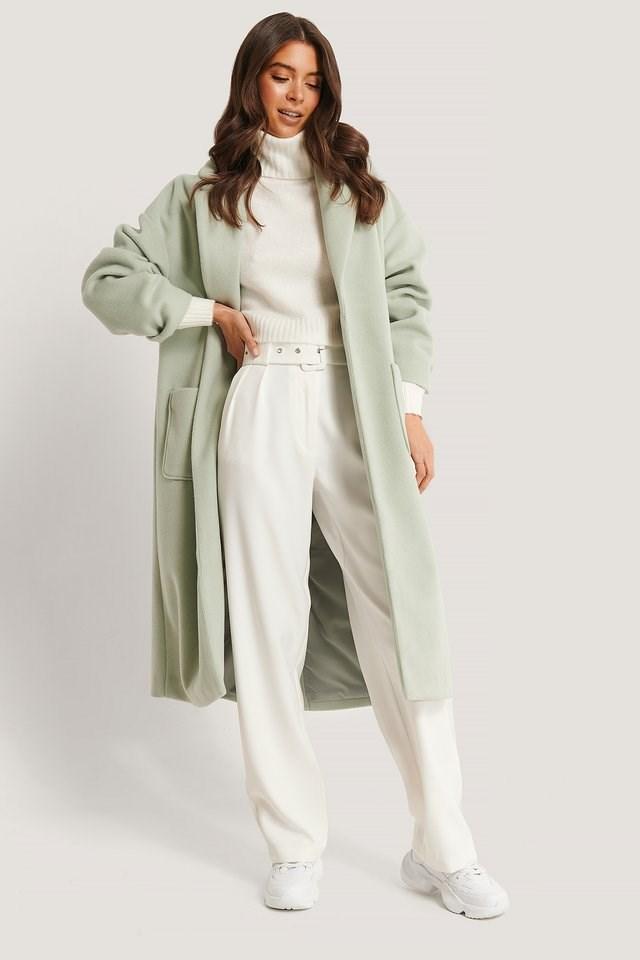 Pocket Front Coat